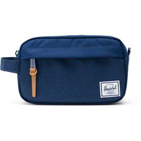 Herschel Chapter Carry On Travel Kit, medievel blue crosshatch/medievel blue